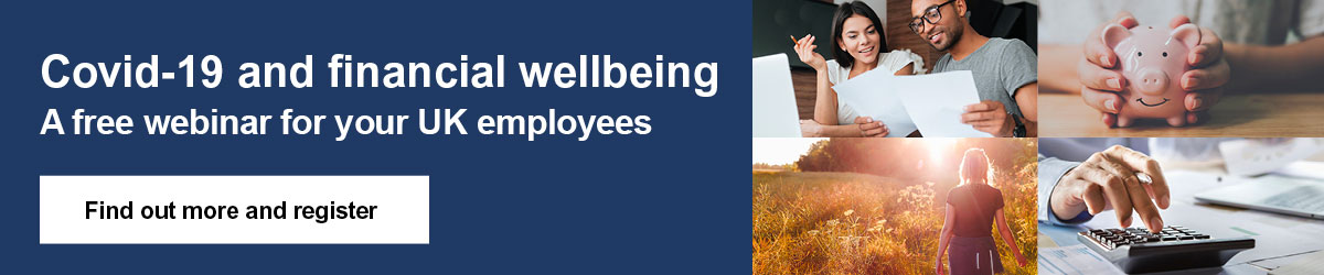 Covid 19 - Financial wellbeing - Find out more