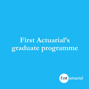 First Actuarial's graduate programme